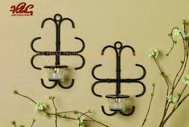 china metal wall sconce candle holder