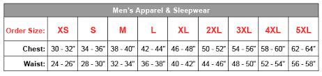 aeropostale size chart guys size chart