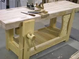 Brianu0027s Benchcrafted Split Top Roubo  The Wood WhispererRoubo Woodworking Bench