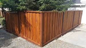 wood fencing types of wood fence