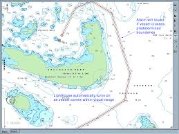 Arlington Reef Navigator Electronic Chart Planned Route