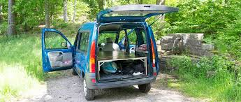 diy camper van platform turn your car into a mini camper