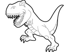 wonderfull design t rex coloring page pages for kids coloringstar