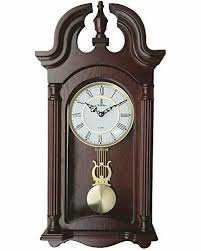 verona stylish wood pendulum wall clock