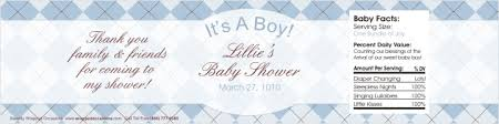 Baby Shower Water Bottle Labels  Sweetly Wrapped OccasionsBaby Boy Shower Water Bottle Labels