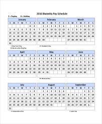 Biweekly Pay Periods 2020 Payroll Calendars