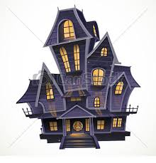 haunted house drawing. happy halloween cozy haunted house - csp16393187 drawing