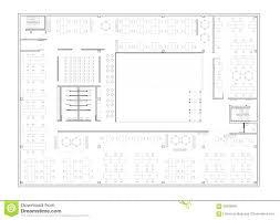 floor plan of the office. The Office Floor Plan Season 6 Mug Of Building Stock Illustration