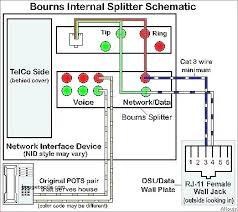 dsl wall jack phone jack wiring diagram regarding whats going on DSL Phone Wiring at Dsl Pots Splitter Wiring Diagram