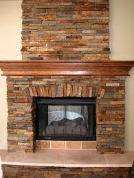 wonderful decoration hearth stone fireplace brick boulder