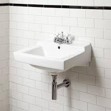 wall hung sinks alia wall mounted porcelain lavatory sink