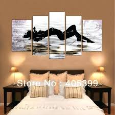 bedroom wall art paintings real handmade modern abstract oil painting on canvas wall art bedroom decoration bedroom wall art paintings