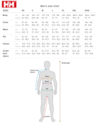 Helly Hansen Jacket Size Chart 54 Explanatory Helly Hansen Sizing Chart Uk