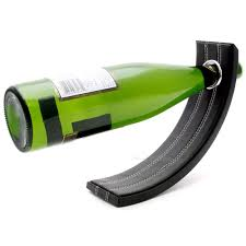 Decorative Wine Bottle Holders Gravity Leather Wine Bottle Holder60 Buy American Wine in 57