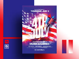 4th Of July Flyer Template By Rome Creation On Dribbble