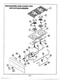 thermador stove top parts. 04-star burner diagram parts for thermador cooktop pcs366 from appliancepartspros.com stove top