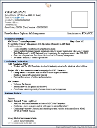 Latest Resume Format For Freshers Engineers Resume Layout Com