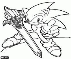 Kleurplaten Sonic Kleurplaat 2