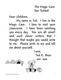 Friendly Letter Format For Kids Choice Image - Letter Samples Format