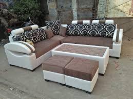 5 seater wooden sofa set size per