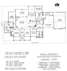 1 12 story 4 bedroom 3 bathroom dining room game 5 bath house plans 0c52344ab777eb3f5785ce1f4 4