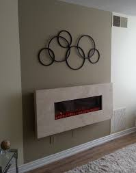 wall mounted fireplace ideas how to build an electric fireplace surround room decor electric