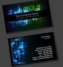 tech business card digital business card
