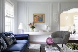 how to style a blue sofa in 2020 on