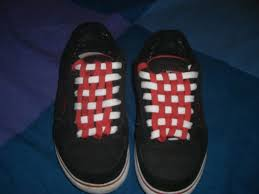 Shoelace Patterns Enchanting Checkerboard Your Shoelaces 48 Steps