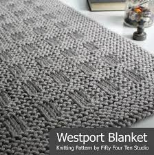 Chunky Knit Blanket Pattern Stunning Fifty Four Ten Studio The Boulevard Blanket Free Chunky Knitting