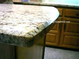 bevel edge traditional kitchen with beveled countertop diy laminate and trim inverted aka mitered single