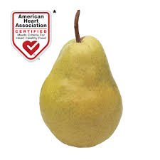 Pear Identification Chart The Bartlett Pear Nutritional Info Fun Facts More Usa