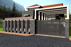 fence design. Modern House Gates And Fences Designs Fence Design D