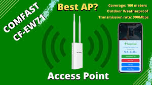 <b>Comfast CF</b>-EW71 | Step by Step Set up | Access Point | Best AP ...
