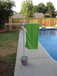 pool towel drying rack pvc pool towel rack plans pvc towel rack plans home design