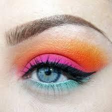 shona eluned mua firework colourful makeup ideas karla cosmetics handbag
