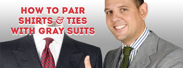 Light Grey Suit At Night How To Pair Shirts Ties With Gray Suits A Guide To