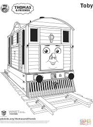 Thomas The Tank Engine Printable Coloring Pages Free Percy And Belle