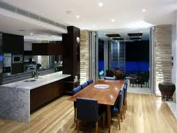 luxury kitchen and dining room design