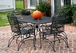 white iron patio furniture. Modren Patio Black Mesh Patio Furniture White Metal Table Wrought Iron  To I
