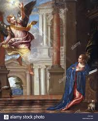 painting titled 'annunciation' by paolo veronese (1528 1588 The Wedding At Cana Painting By Paolo Veronese painting titled 'annunciation' by paolo veronese (1528 1588) italian renaissance painter, best known for large history paintings of both religious and Paolo Veronese Inquisition