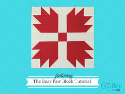 Bear Paw Quilt Pattern Magnificent Bear Paw Quilt Block Tutorial Late Night Quilter