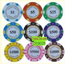 Standard Casino Chip Colors Online Casino Portal