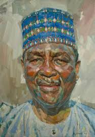 Andrew James Artist 2012 by Rocket Powered - Andrew-James-Painting-Genera-Yakubu-Gowon