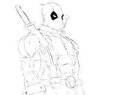 Deadpool Coloring Book Pages Coloring Pages Free Printable Page