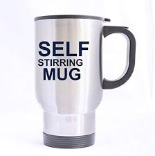 Free delivery on your first order shipped by amazon. Amazon Com Personalized Funny Saying Self Stirring Mug Pattern Travel Coffee Or Tea Mug 100 Stainless Steel Material Travel Mugs Sliver 14oz Sizes Two Sides Kitchen Dining
