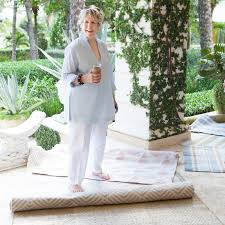 hop to it elegant easy care rugs and pillows from bunny williams