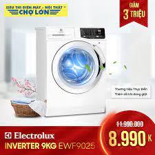 Siêu Thị Điện Máy - Nội Thất Chợ Lớn - ▪️ Máy giặt #Electrolux Inverter 9.0  Kg EWF9025 giảm 3 triệu Giá còn: 8.990.000 (Was:  ̶1̶̶1̶̶.̶̶9̶̶9̶̶0̶̶.̶̶0̶̶0̶̶0̶) - Thương hiệu Thụy Điển -