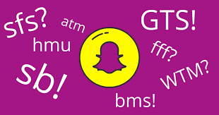a guide to snapchat acronyms and text