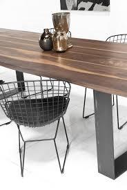industrial modern furniture. Industrial Modern Solid Walnut Slab Furniture